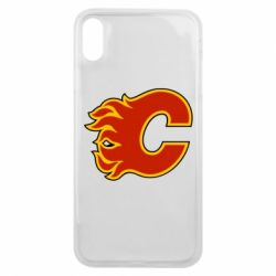 Чехол для iPhone Xs Max Calgary Flames - FatLine