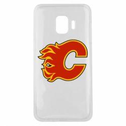 Чехол для Samsung J2 Core Calgary Flames - FatLine