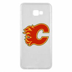 Чехол для Samsung J4 Plus 2018 Calgary Flames - FatLine