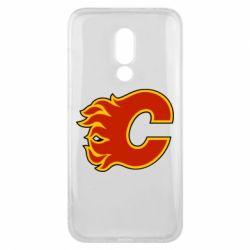 Чехол для Meizu 16x Calgary Flames - FatLine