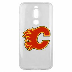 Чехол для Meizu X8 Calgary Flames - FatLine