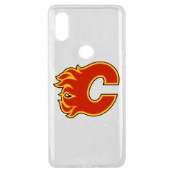 Чехол для Xiaomi Mi Mix 3 Calgary Flames - FatLine