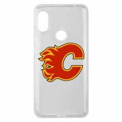Чехол для Xiaomi Redmi Note 6 Pro Calgary Flames - FatLine