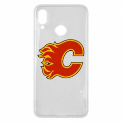 Чехол для Huawei P Smart Plus Calgary Flames - FatLine