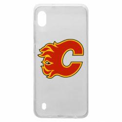 Чехол для Samsung A10 Calgary Flames