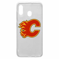 Чехол для Samsung A20 Calgary Flames