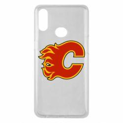 Чехол для Samsung A10s Calgary Flames