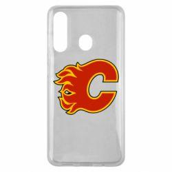 Чехол для Samsung M40 Calgary Flames