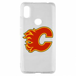 Чехол для Xiaomi Redmi S2 Calgary Flames