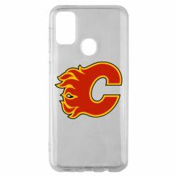 Чехол для Samsung M30s Calgary Flames