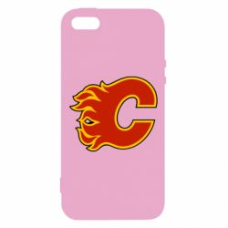 Чехол для iPhone5/5S/SE Calgary Flames - FatLine