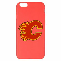 Чехол для iPhone 6 Plus/6S Plus Calgary Flames - FatLine