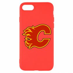 Чехол для iPhone 7 Calgary Flames - FatLine