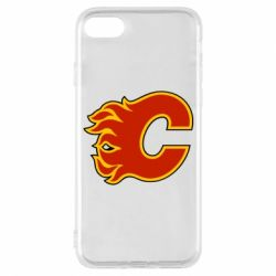Чехол для iPhone 8 Calgary Flames - FatLine