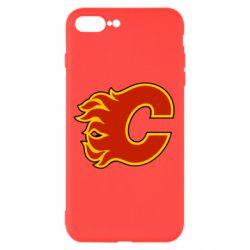 Чехол для iPhone 8 Plus Calgary Flames