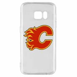 Чехол для Samsung S7 Calgary Flames - FatLine