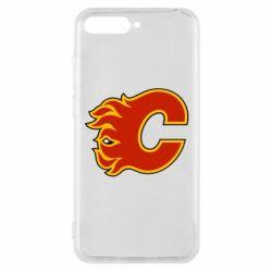 Чехол для Huawei Y6 2018 Calgary Flames - FatLine