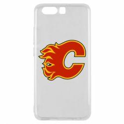 Чехол для Huawei P10 Calgary Flames - FatLine