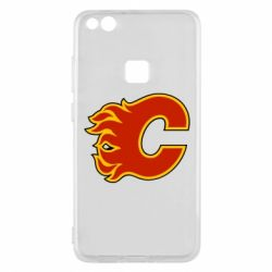 Чехол для Huawei P10 Lite Calgary Flames - FatLine