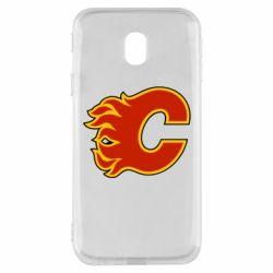 Чехол для Samsung J3 2017 Calgary Flames - FatLine