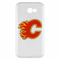 Чехол для Samsung A7 2017 Calgary Flames - FatLine