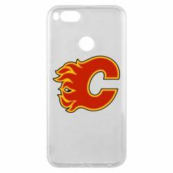 Чехол для Xiaomi Mi A1 Calgary Flames - FatLine