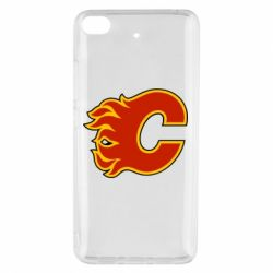 Чехол для Xiaomi Mi 5s Calgary Flames - FatLine