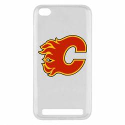 Чехол для Xiaomi Redmi 5a Calgary Flames - FatLine