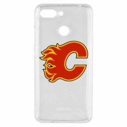 Чехол для Xiaomi Redmi 6 Calgary Flames - FatLine