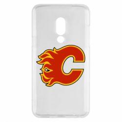 Чехол для Meizu 15 Calgary Flames - FatLine
