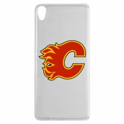Чехол для Sony Xperia XA Calgary Flames - FatLine