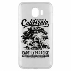 Чохол для Samsung J4 California Beach