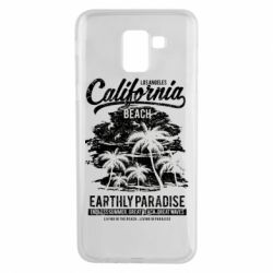 Чохол для Samsung J6 California Beach