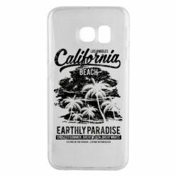 Чохол для Samsung S6 EDGE California Beach