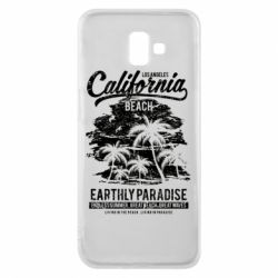 Чохол для Samsung J6 Plus 2018 California Beach