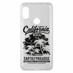 Чохол для Xiaomi Redmi Note Pro 6 California Beach