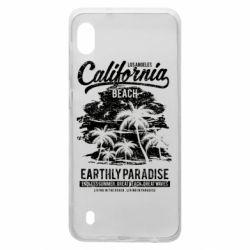 Чохол для Samsung A10 California Beach