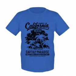 Дитяча футболка California Beach