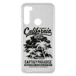 Чохол для Xiaomi Redmi Note 8 California Beach