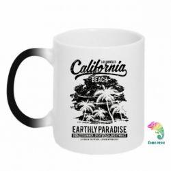 Кружка-хамелеон California Beach