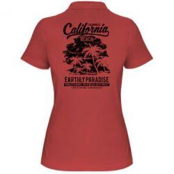 Жіноча футболка поло California Beach