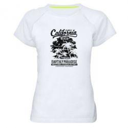Жіноча спортивна футболка California Beach