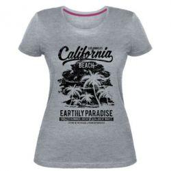 Жіноча стрейчева футболка California Beach