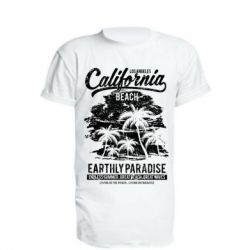 Подовжена футболка California Beach