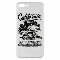 Чохол для iPhone 8 Plus California Beach