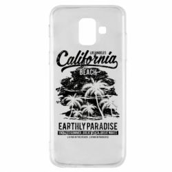 Чохол для Samsung A6 2018 California Beach