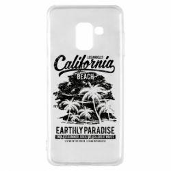 Чохол для Samsung A8 2018 California Beach