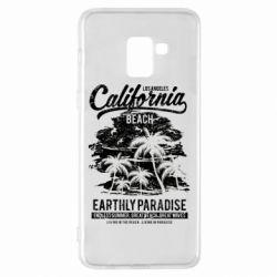 Чохол для Samsung A8+ 2018 California Beach