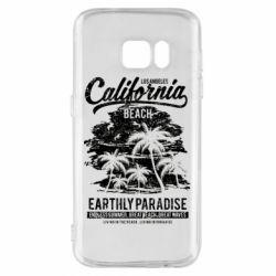 Чохол для Samsung S7 California Beach
