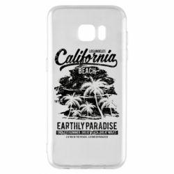 Чохол для Samsung S7 EDGE California Beach